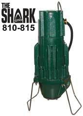 Zoeller The Shark Series Grinder Pumps 810, 815Part #:810-0004