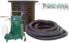 Zoeller Crawl Space Sump Pump System 108, 138