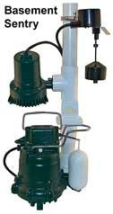 Zoeller Basement Sentry Battery BackUp Sump Pump 507 & 510