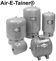 Zoeller Diaphragm Pressure Tanks & Accessories