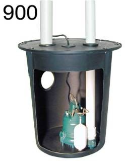Zoeller 900 Series Preassembled sump pump system