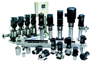 Grundfos CR, CRI, CRN Series Stainless Steel Pumps
