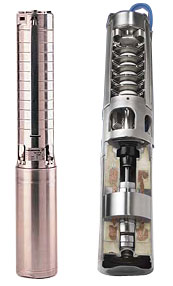 Grundfos SP 4 Stainless Steel Submersible Pumps