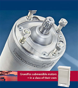Grundfos Submersible Motors For Groundwater Pumps