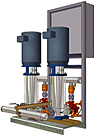 Bell & Gossett / B&G 70M-MS Multi-Stage Pressure Booster Package