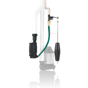 Blue Angel BEWP10 - Water-Powered Back-Up Sump Pump System