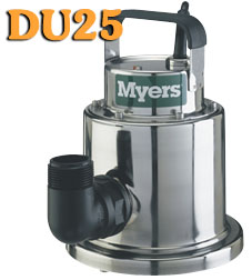 Myers DU25 - 1/4 HP Stainless Steel Utility PumpPart #:DU25