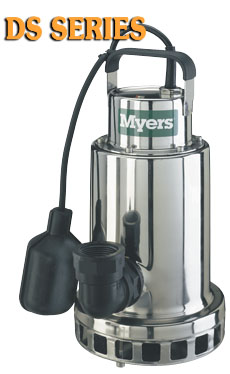 Myers DS Series - 1/3 - 3/4 HP SS Sump PumpPart #:DS