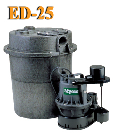 Myers ED25 - 1/4 HP Sink Pump SystemPart #:ED25