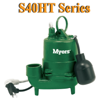 Myers S40HT Series-High Temperature Effluent PumpPart #:S40HT