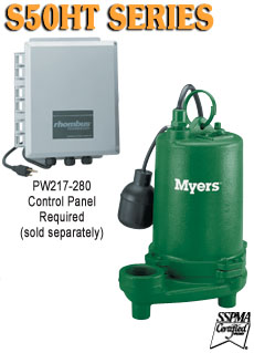 Myers S50HT Series -High Capacity Submersible PumpPart #:S50HT