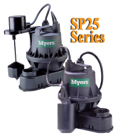 Myers SP25 Series - Residential Sump PumpsPart #:SP25
