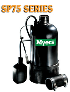 Myers SP75 Series -Composite Submersible Sump PumpPart #:SP75