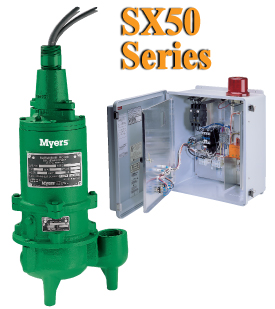 Myers SX50 Series - Explosion-Proof Sump Pump PackagePart #:SX50