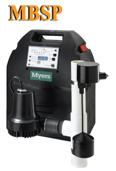 Myers Sump Pumps MBSP Series - 12 Volt Battery Standby Sump Pump MBSP for Sale