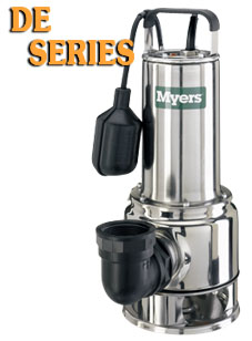 Myers DE Series - SS Continuous Duty PumpPart #:DE