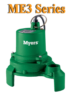 Myers ME3 Series - Submersible Effluent PumpsPart #:ME3