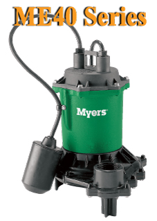 Myers ME40 Series - Effluent and Drain Water PumpPart #:ME40