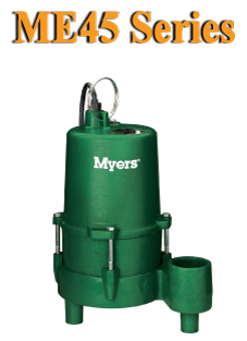 Myers ME45 Series -Effluent and Drain Water PumpPart #:ME45