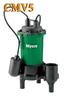 Myers CMV5 Series - 1/2 HP Residential Sewage PumpPart #:CMV5