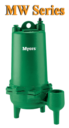 Myers MW Series - Commercial Sewage PumpsPart #:MW