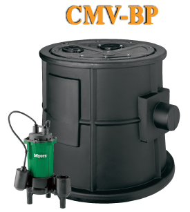 Myers BasinPro45 Gallon Packaged Sewage Pump SystemPart #:45