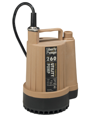 Liberty Model 260 1/6 hp Submersible Utility PumpPart #:260