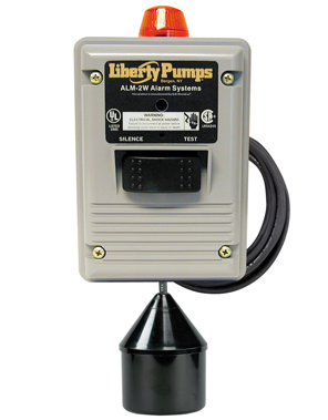 Liberty ALM-2W In/Outdoor High Liquid Level AlarmPart #:ALM2W