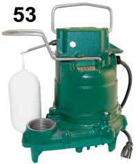 Zoeller M53 Submersible PumpPart #:53-0001