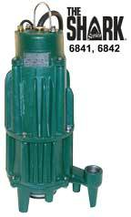 Zoeller Shark Series 6841