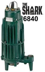 Zoeller Shark Series 6840