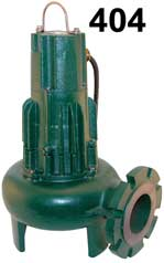 Zoeller WASTE MATE-E404 Submersible Pump