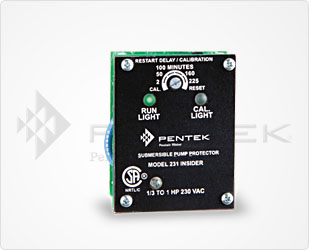 Berkeley PENTEK Single-Phase Protector SeriesPart #:SPP-231