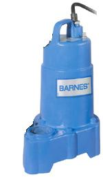 Barnes Submersible Effluent Pump SP33VFPart #:112551