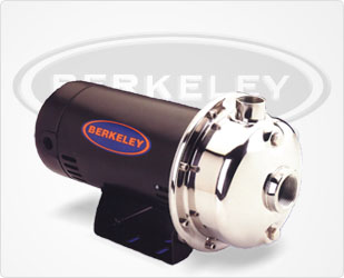 Berkeley SSCX Series - 2 HP-Stainless Steel Impeller PumpsPart #:B82425