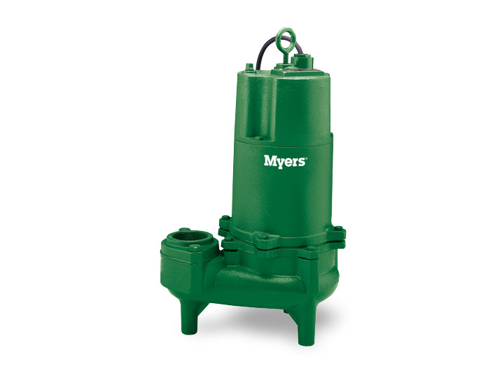 Myers 2-Inch Solids Hvy Dty Sewage Pump-Double SealPart #:WHR7-53-DS-L/D