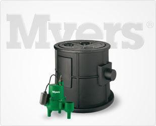 Myers BasinPro 1/2 HP Packaged Sewage Pump, 135 GPM Part #:MW-BP