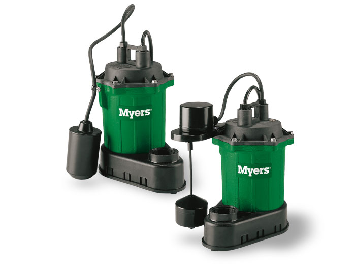 Myers 1/3 HP Thermoplastic Submersible Sump Pump, 32 GPMPart #:S33A1