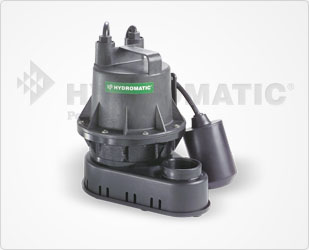 Hydromatic 1/4 HP Thermoplastic Sump PumpsPart #:B-A1