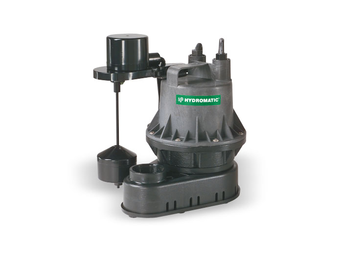 Hydromatic 1/4 HP Thermoplastic Sump PumpsPart #:BV-A1