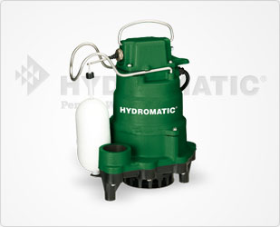 Hydromatic 1/3 HP High-Temperature Cast Iron Sump Pumps Part #:HTS550A1