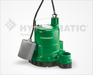 Hydromatic 1/3 HP Cast Iron, Tethered Switch Sump PumpsPart #:SW33