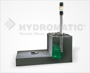 Hydromatic Sewage Pump Package System Part #:JB-1
