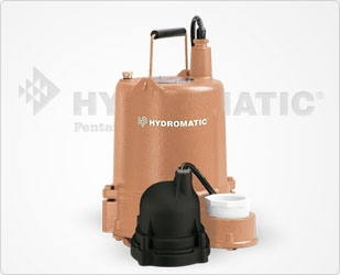 Hydromatic 1/2 HP Cast Iron / Naval Bronze Effluent Pumps Part #:OSP50AB
