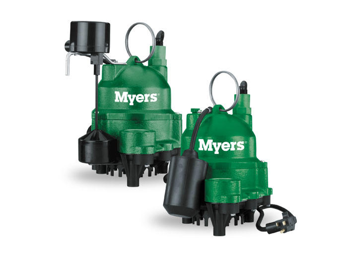 Myers 1/2 HP Cast Iron Submersible Sump PumpPart #:MDC50PC1