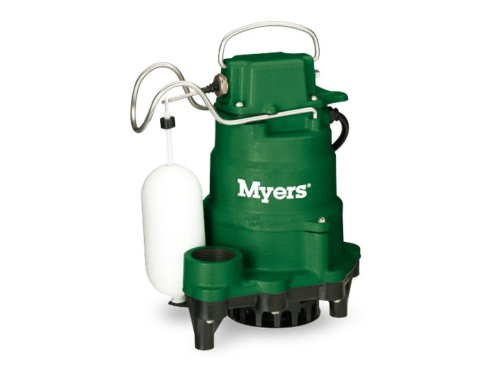 Myers 1/3 HP Cast Iron Sump Pump Vertical . SwitchPart #:MCI033-30