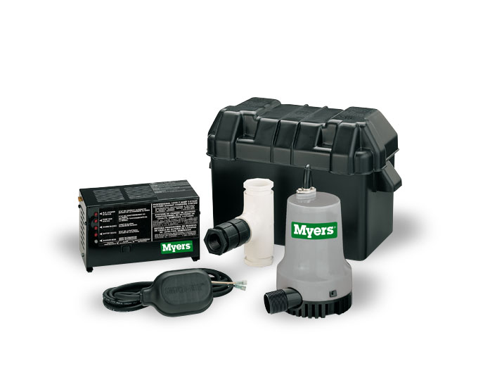Myers 12 Volt Battery Standby Pump System with Control Part #:MBSP-PLUS-18T