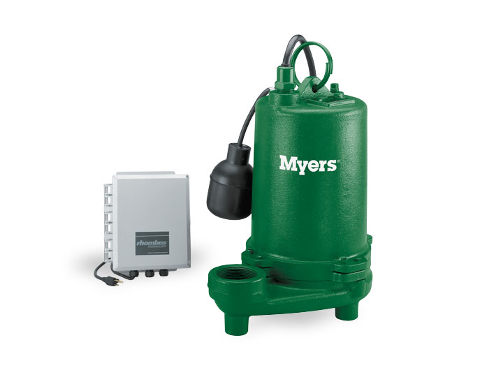 Myers 1/2 HP High-Capacity Cast Iron Effluent PumpPart #:MEC200MC3