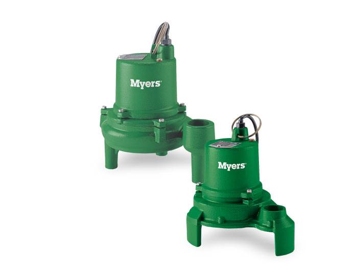 Myers 1/3 HP Cast Iron Effluent PumpPart #:ME3H-11P