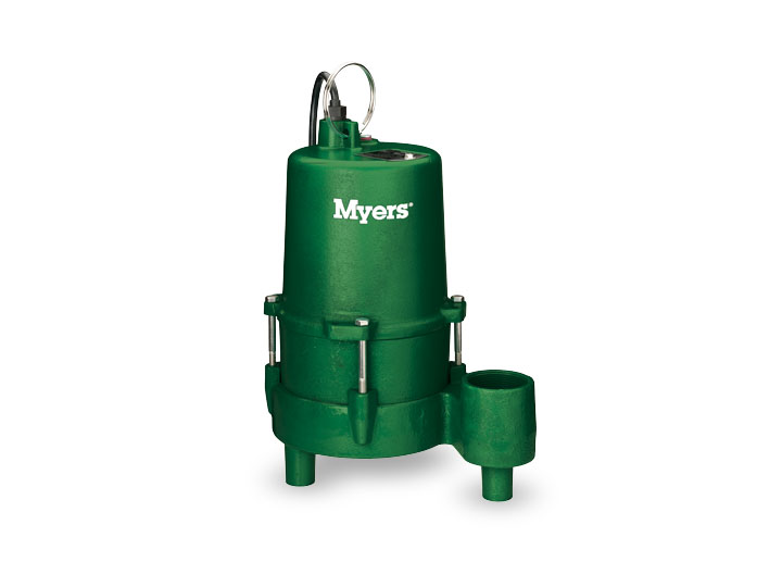 Myers 1/2 HP Cast Iron Effluent & Drain Water PumpPart #:ME45MC-11